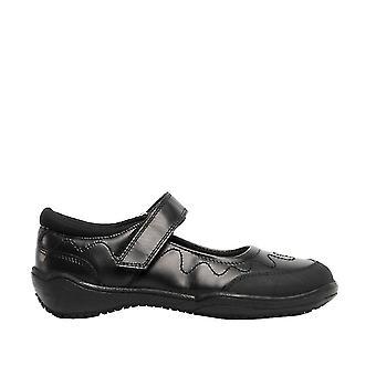 Roamers tyttöjen nahka Touch kiinnitys koulu kenkä