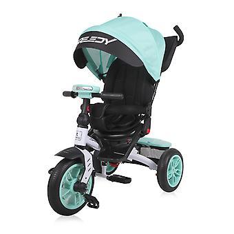 Lorelli Tricycle Speedy, Luftreifen, drehbarer Sitz, Musik, Licht, Schubstange