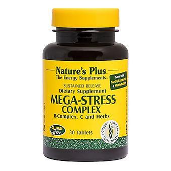 Nature's Plus Mega-Stress sortie soutenue Tab 30 (1250)