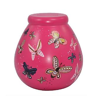 Pot of Dreams Butterfly Money Pot