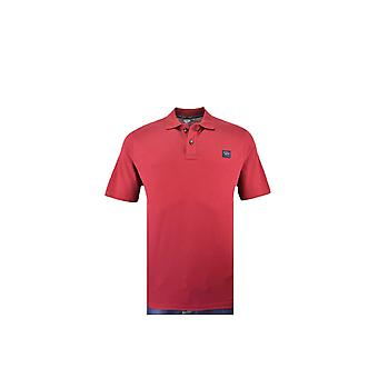 Paul & Shark Paul And Shark Plain Polo Shirt Red