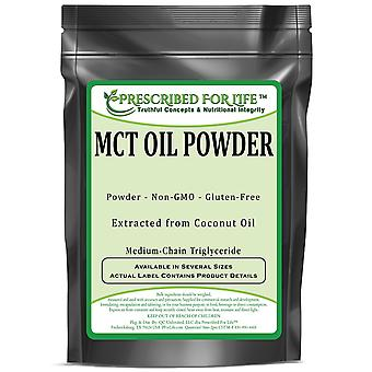 MCT Oil Powder - Extracted from Coconut & Palm Oils (Medium-Chain Triglycerides)