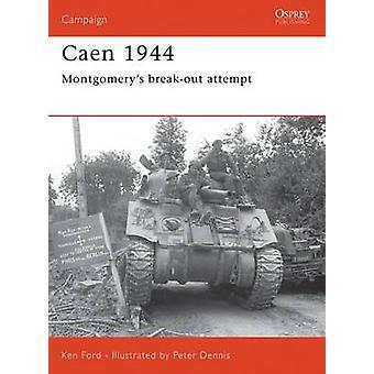 Caen 1944-tekijä Ken Ford