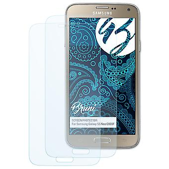 Bruni 2x Screen Protector compatible with Samsung Galaxy S5 Neo G903F Protective Film