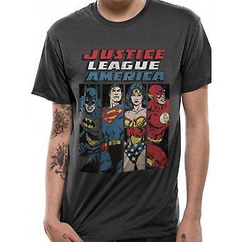 Justice League - Line Up T-Shirt