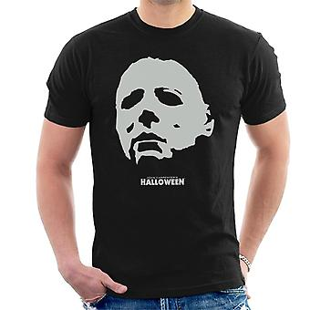 Halloween Michael Myers Mask Men's T-Shirt