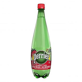 Perrier Strawberry Plastic -- 1 Lt X 6 Bouteilles )