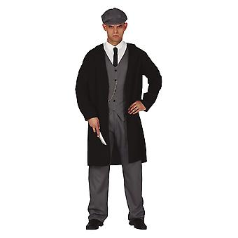 Mens Anglais Gangster Fancy Dress Costume Peaky Blinders