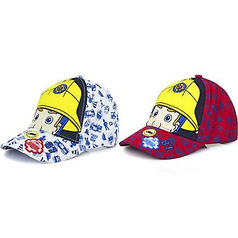 Fireman Sam Childrens/Kids Eyes And Helmet Baseball Cap