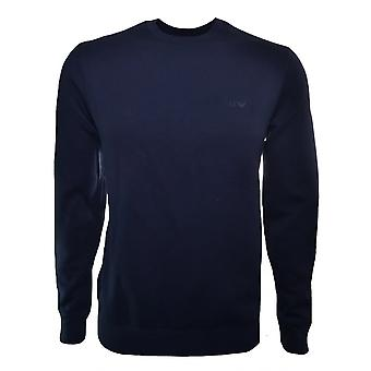 Armani Jeans Men's Blue Notte Sweatshirt