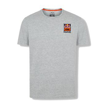 Red Bull KTM Racing Team Men's Patch T-Shirt | Grey
