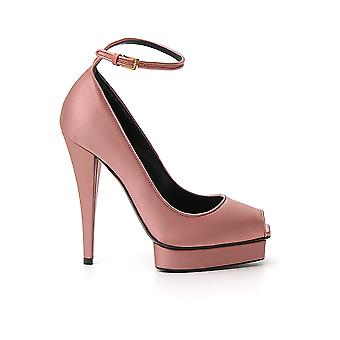 Tom Ford W2506ttsa003u3012 Women's Pink Satin Pumps