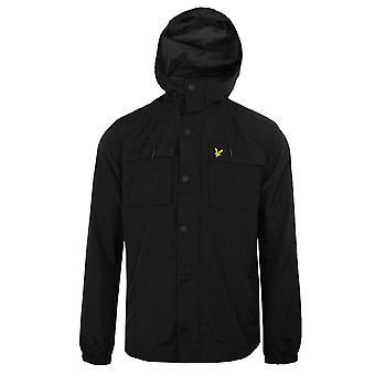 Lyle & scott men's black pocket jacket