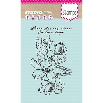 Studio Light A6 Clear Stamp - Number 228