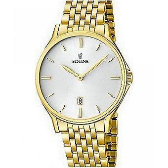 שעון festina גברים F16746 קלאסי-1