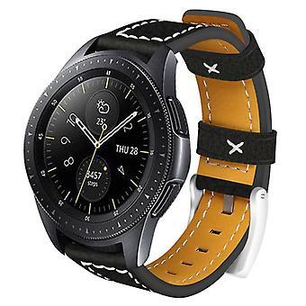 Smartwatch Armband 20mm Samsung Gear S2/Sport/Galaxy, Garmin - Leder