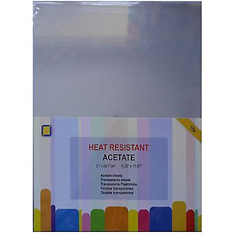 JEJE A4 Heat Resistant Acetate Sheets