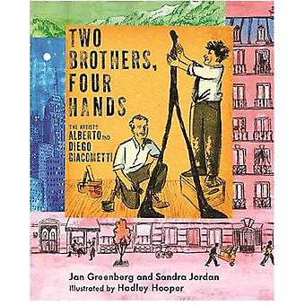 Two Brothers - Four Hands by Jan Greenberg - 9780823441709 Book