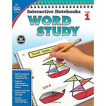 Interactive Notebooks Word Study - Grade 1 by Carson-Dellosa Publishi