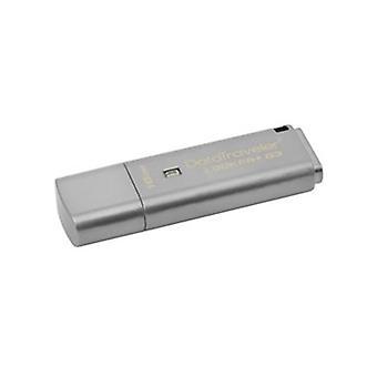 Kingston Datatraveler Locker G3 16Gb Hardware Encrypted Usb Drive