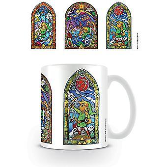 Zelda farvet glas tri krus