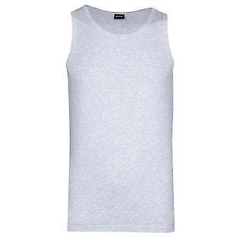 BOSS Bodywear Identity Grey Marl Tank Top