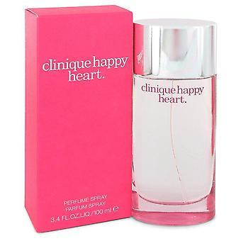 Cuore felice Eau De Parfum Spray da Clinique 3.4 oz Eau De Parfum Spray