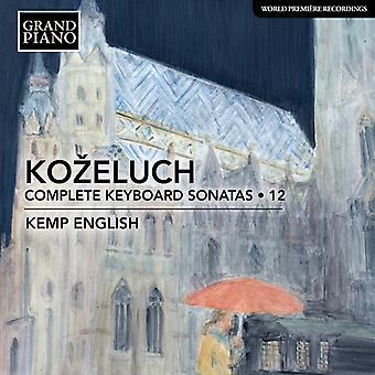 Kozeluch - Kozeluch: Complete Keyboard Sonatas [CD] USA import