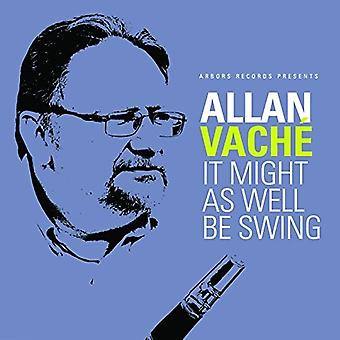 Allan Vache - It Might as Well Be Swing [CD] USA import