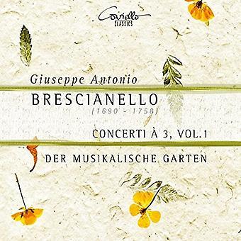 Brescianello / Garten - Giuseppe Antonio Brescianello: Concerti a 3 Vol 1 [CD] USA import