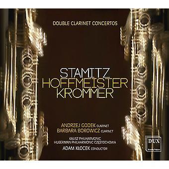 Hoffmeister / Krommer / Stamitz / Borowicz - Double Clarinet Concertos [CD] USA import
