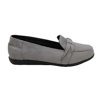 Beacon Women-apos;s Shoes Ingrid Suede Closed Toe Loapers