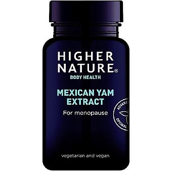 Higher Nature Mexican Yam Concentrated Extract Veg Caps 90 (MYA090)