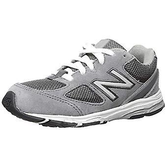 New Balance Boys' 888v2 Running Shoe, Dark Grey/Grey, 3 W US Infant