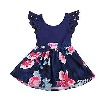 Toddler Girls Sleeveless Floral Dress