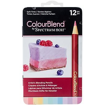 Spectrum Noir Spectrum Colourblend Pencils Soft Tints (12pc) (SPECCB-SOFT12)