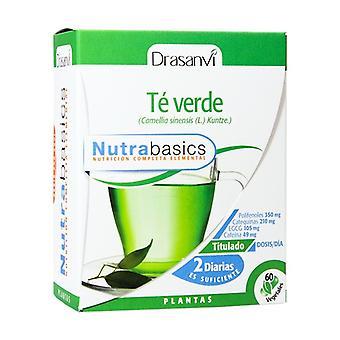 Nutrabasics Chá Verde 60 cápsulas de 486mg
