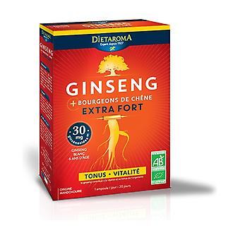 Extra strong ginseng 20 ampoules of 200ml