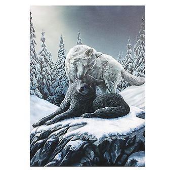 Lisa Parker Snow Kisses Canvas