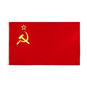 Red Cccp Union Of Soviet Socialist Republics Ussr Flag