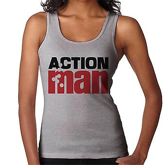 Action Man Logo Bullets Women's Vest