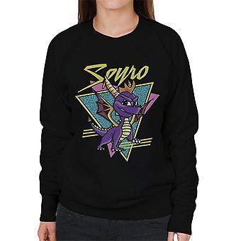 Spyro Retro Montage Women's Sweatshirt
