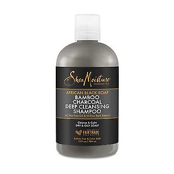 shea moisture abs bamboo charcoal ch /13oz new 384 ml