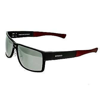 Raza Stratus aluminio polarizado gafas de sol - negro/plata
