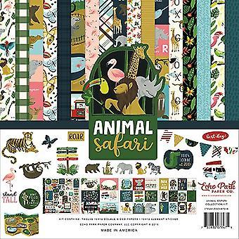 Echo Park Animal Safari 12x12 Inch Collection Kit