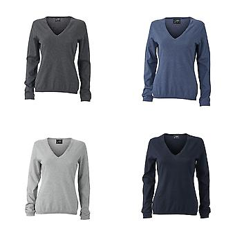 James and Nicholson Womens/Ladies Pullover