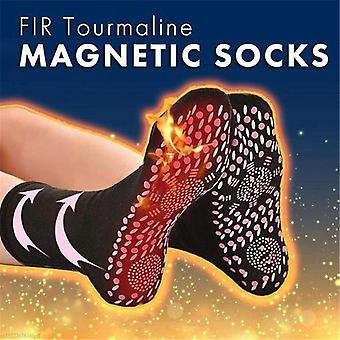 Tourmaline Self Magnetic Therapy Heating Socks For Women Men - Warm Cold Feet Comfort Health Heated Sock