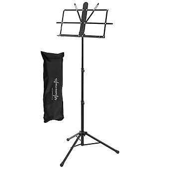 Professional Folding Music Stand by World Rhythm, Lightweight Sheet