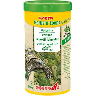 Sera sera HerbsnLoops (Reptiles , Food Supplements)