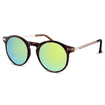 النظارات الشمسية Unisex بانتو Cat.3 براون (السلاحف) / الأخضر (CWI475)